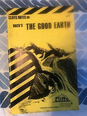 Cliffnotes On The Good Earth