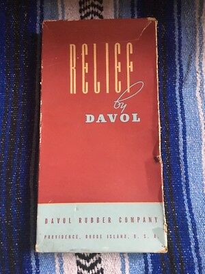 Vintage Davol Relief Combination Water Bottle Syringe Douche 2 qt. In Box