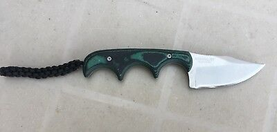 CRKT Minimalist Bowie Neck Knife, Alan Folts Design. TSA Confiscated