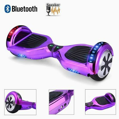 """6.5"""" Smart Electric Scooter Self Balancing Scooter Balance Board Bluetooth LED"""