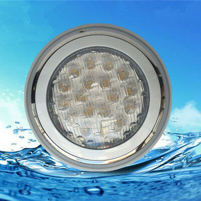 3led*18w/54w 12v Dc Swimming Pool Led Lights Rgb Colorful Underwater Light Ip68