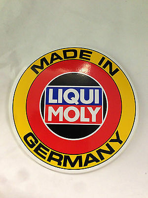 Authentic Liqui Moly Made in Germany Decal Stickers Mercedes BMW Audi VW Porsche