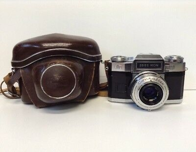 VINTAGE ZEISS IKON Contaflex With Carl Zeiss Tessar  Lens(Untested/spares/repair)