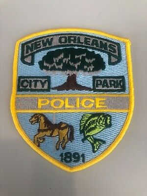 Old New Orleans La Louisiana City Park Police Patch