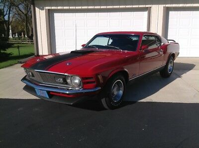 1970 Ford Mustang  1970 Mustang Mach 1 351C