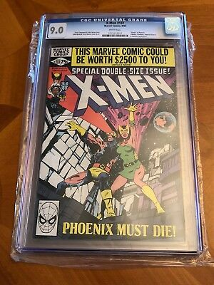 X-Men 137 (Sept, 1980, Marvel) CGC graded 9.0 White Pages