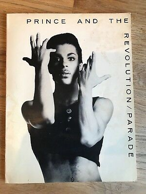 Prince And The Revolution - Parade Music Song Book / Sheet Music RARE!