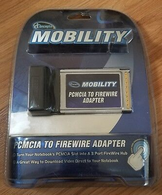 iconcepts Mobility PCMCIA TO FIREWIRE ADAPTER 3 port