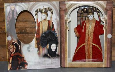 "Star Wars 61774 Queen Amidala 1999 Portrait Edition 12"" Red Senate Gown NOS"