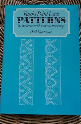 Bucks Point Lace Patterns, 50 tear out prickings, by Henk Hardeman