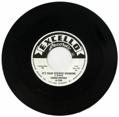 Charles Sheffield It's Your Voodoo Working Northern Soul/R&B Reissue 45 Listen