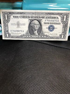 1957 One $1 Dollar Silver Certificate Notes Old US Currency