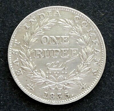 1835 East India Company, William IIII - One Rupee