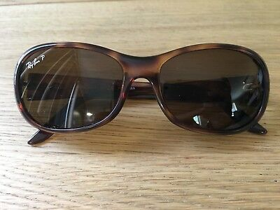 1dc937c004 RAY BAN RB 4061 642 57 Tortoise Classic Brown Polarized Sunglasses ...