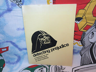 Vintage Canada Star Wars Book DETECTING PREJUDICE Darth Vader cover