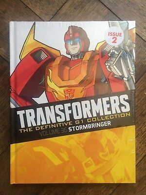 TRANSFORMERS DEFINITIVE G1 COLLECTION ISSUE 2, Vol 36 STORMBRINGER Hardcover