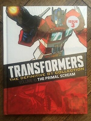 TRANSFORMERS DEFINITIVE G1 COLLECTION ISSUE 3, Vol 16 PRIMAL SCREAM Hardcover