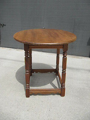 Vintage California Rancho Spanish Revival Lamp Or Occasional Table 1930's