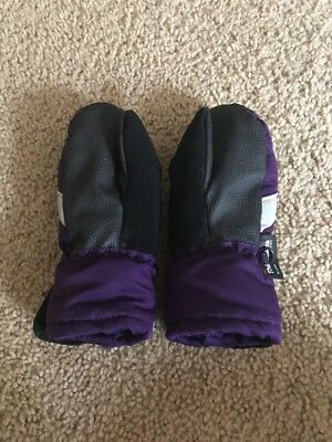 Toddler Girl Winter Snow Insulated Gloves  2T-3T Thinsulate Purple Mittens