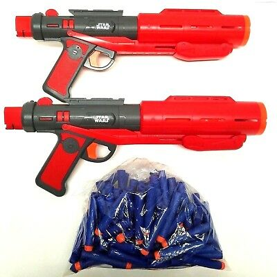 Star Wars Nerf Deluxe Blasters Imperial Death Trooper Rogue One 2 GUNS + DARTS