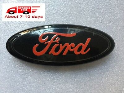 New Red Oval Front Grille Or Rear Liftgate 9 Inch Logo 2004 - 2014 Ford F-150