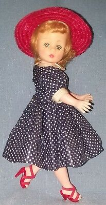 "Lovely Vintage Madame Alexander Cissette Doll In Tagged ""i Love Lucy"" Dress Vgc"