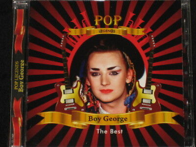 Boy George Pop Legends Rare Cd 16 Tracks Special Edition Collector Series Nw