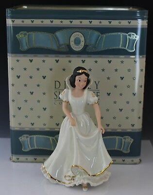 Disney Showcase Collection Lenox Porcelain Snow White Porcelain Figurine in Box