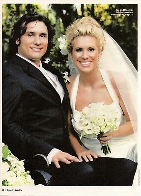 Joe Nichols 3 Page Magazine Article Clipping 2 Pictures Country Music Wedding