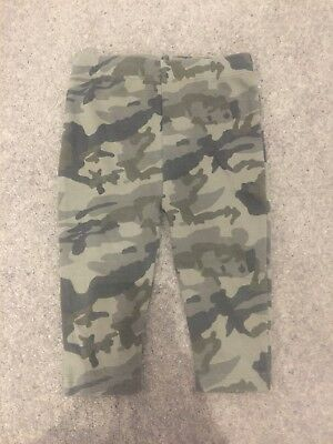 Next Baby Camouflage Leggings 6-9 months