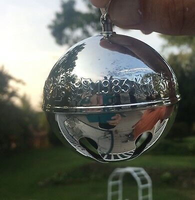 1983 Wallace Silverplated Christmas Bell