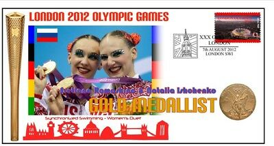 RUSSIA 2012 OLYMPIC SYNCHRONIZED SWIMMING GOLD MEDAL Cv