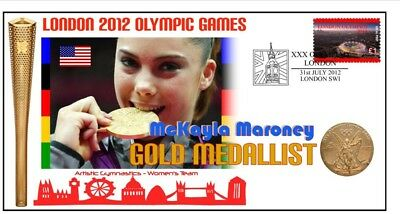 Mckayla Maroney 2012 Olympic Usa Gymnastics Gold Cov