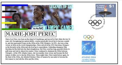 OLYMPIC GAMES LEGENDS COVER, MARIE-JOSE PEREC 400m
