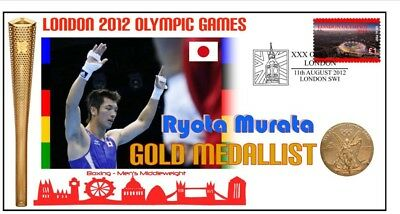 Ryota Murata 2012 Olympic Japan Boxing Gold Medal Cover