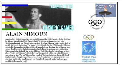 Olympic Games Legends Cover, Alain Mimoun Marathon