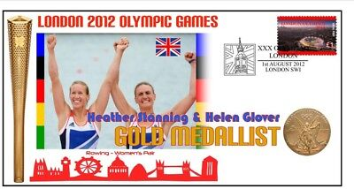 Heather Stanning Helen Glover Olympic Rowing Gold Cv 1