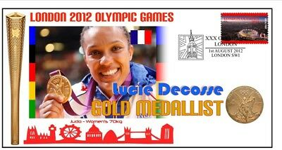 Lucie Decosse 2012 Olympic France Judo Gold Medal Cov