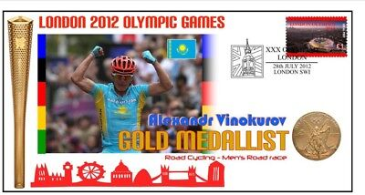 Alexandr Vinokurov Cycling London Olympic Gold Cov 2