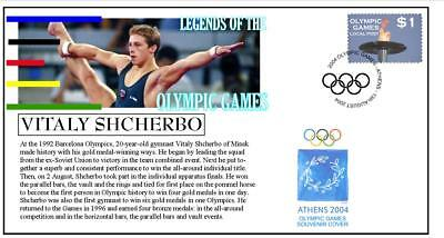 Olympic Games Legends Cover, Vitaly Shcherbo Gymnastics