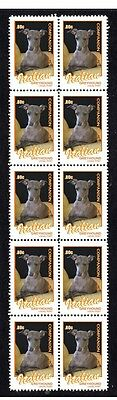 Italian Greyhound Companion Dogs Strip 10 Mint Stamps2