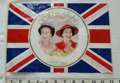 "Golden Jubilee Queen Elizabeth II 8'5""x 12"" vinyl  Flag"