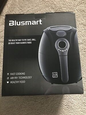 Blusmart Electric Air Fryer 3.4Qt/3.2L 1400W, LED Display Brand New