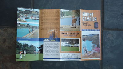 OLD 1970s TOURIST BROCHURE FROM MOUNT GAMBIER SOUTH AUSTRALIA