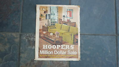 1960s HOOPERS FURNITURE STORE CATALOGUE, ADELIADE 20 PAGES, RETRO MID CENTURY 3