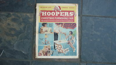 1960s HOOPERS FURNITURE STORE CATALOGUE, ADELIADE 20 PAGES, RETRO MID CENTURY 1