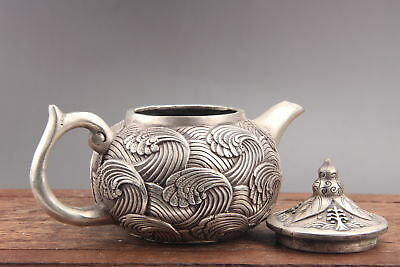 Exquisite Collection Chinese Cupronickel  Teapot as538