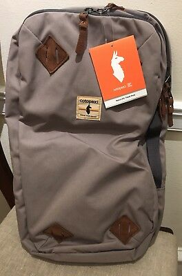 New! Cotopaxi Nazca 24L Travel Pack. Bag/Backpack. Driftwood Grey. Leather Ties
