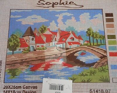 BRIDGE & VILLAGE- Tapestry to Stitch (NEW) by SOPHIE