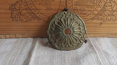 Antique French Vintage Small Decorative Gilded Metal Lamp shade Fitting C 1900